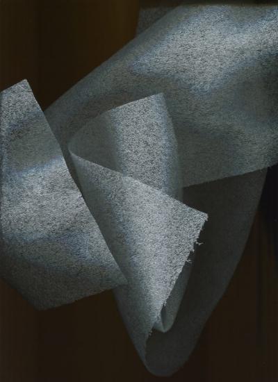 Giordano Biondi, Composite #6 (2017), digital print on translucent vinyl.