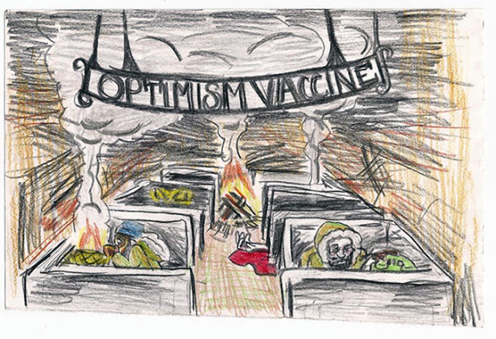 """The Optimism Vaccine """"Headquarters"""""""