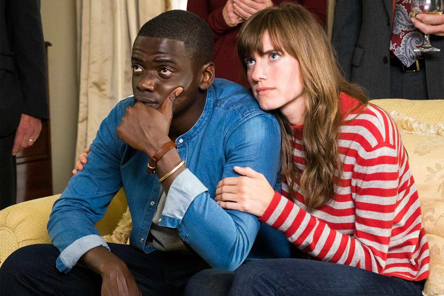 Daniel Kaluuya and Alison Williams in  Get Out  (2017)