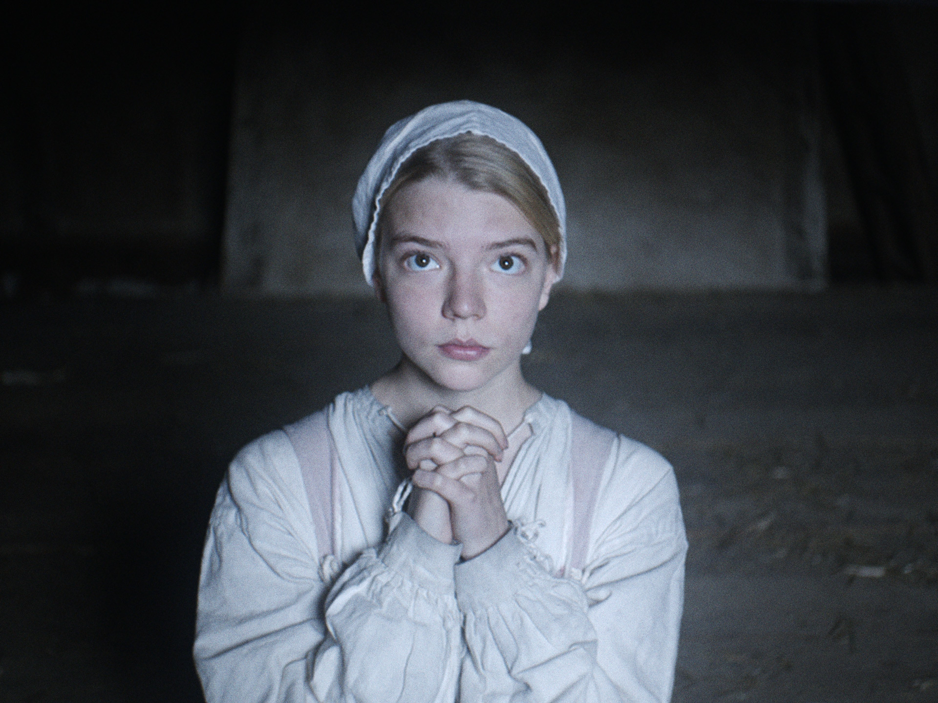 Anya Taylor-Joy as Thomasin in  The Witch  (2017)
