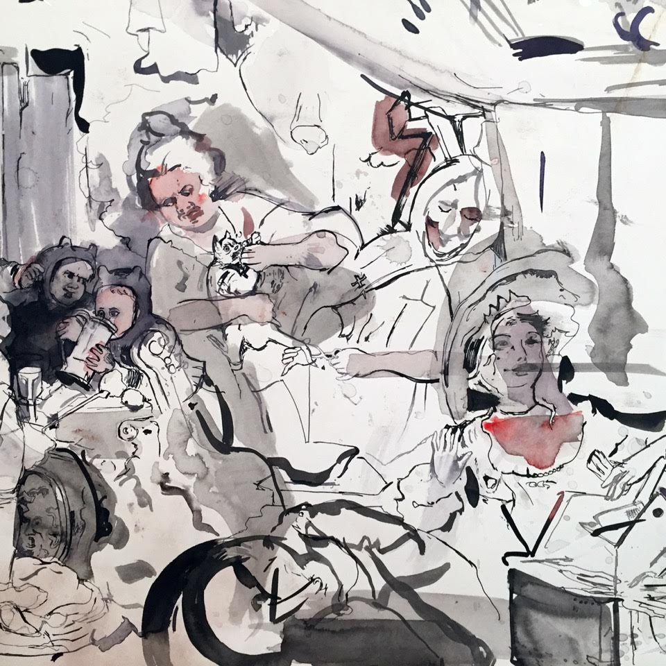 Detail Cecily Brown