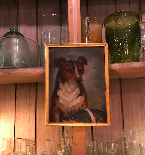 Exhibit A:  Anonymous Dog Portrait @ John Derian Company