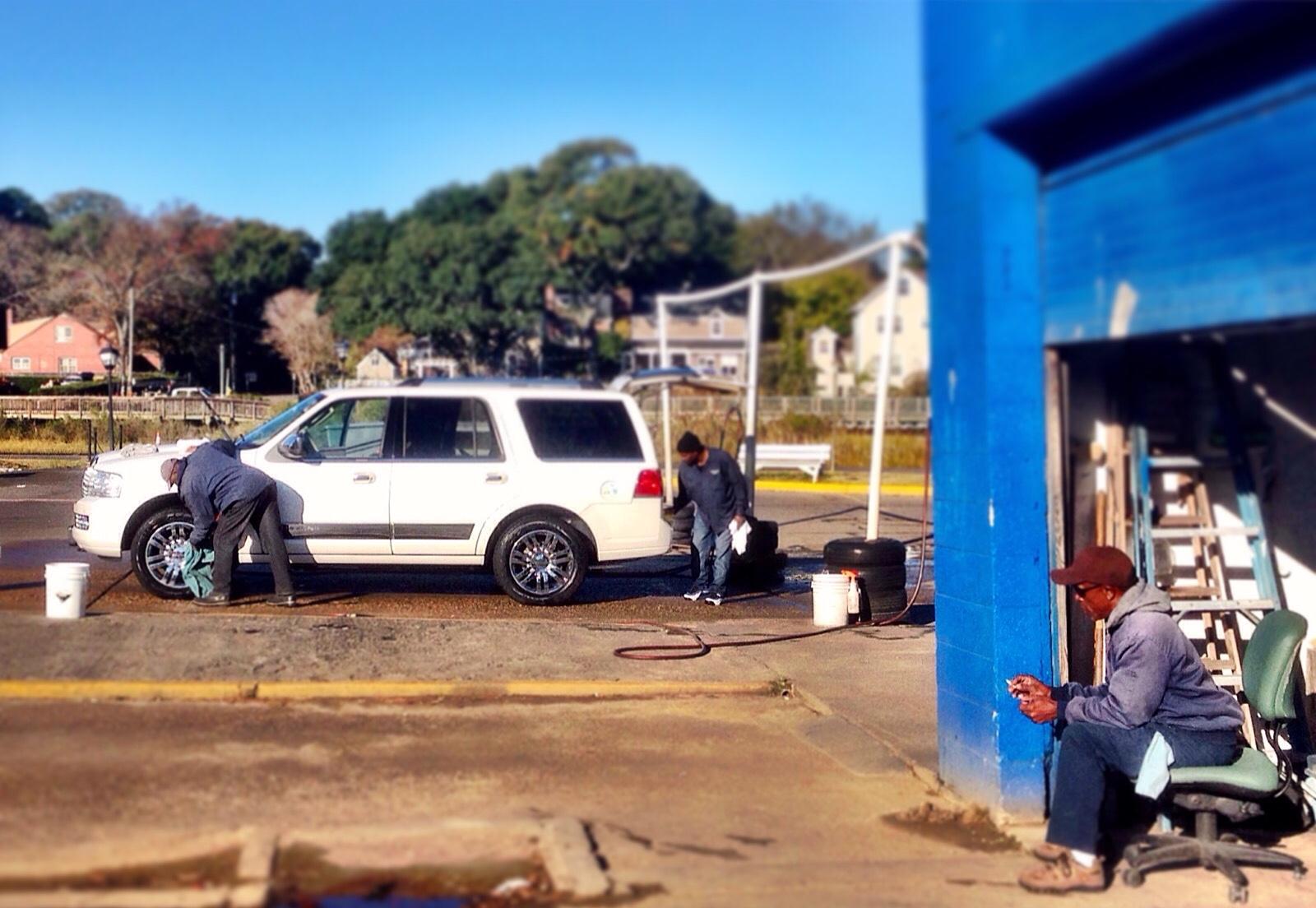 The car wash crew.