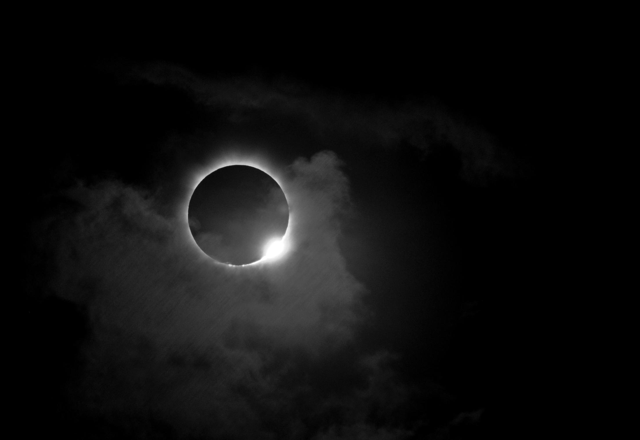 A Blood Moon is pictured, Sunday, Sept. 28, 2015 in Virginia Beach, Va.     (AP Photo/Jason HIrschfeld)