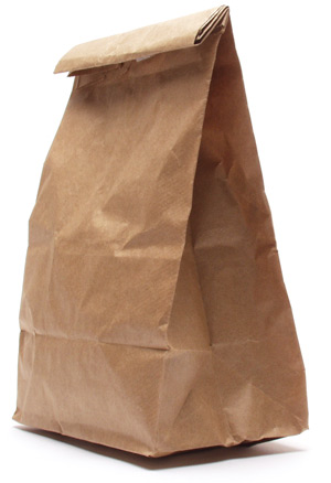 the brown bags get so happy, when they're full of fine fromage