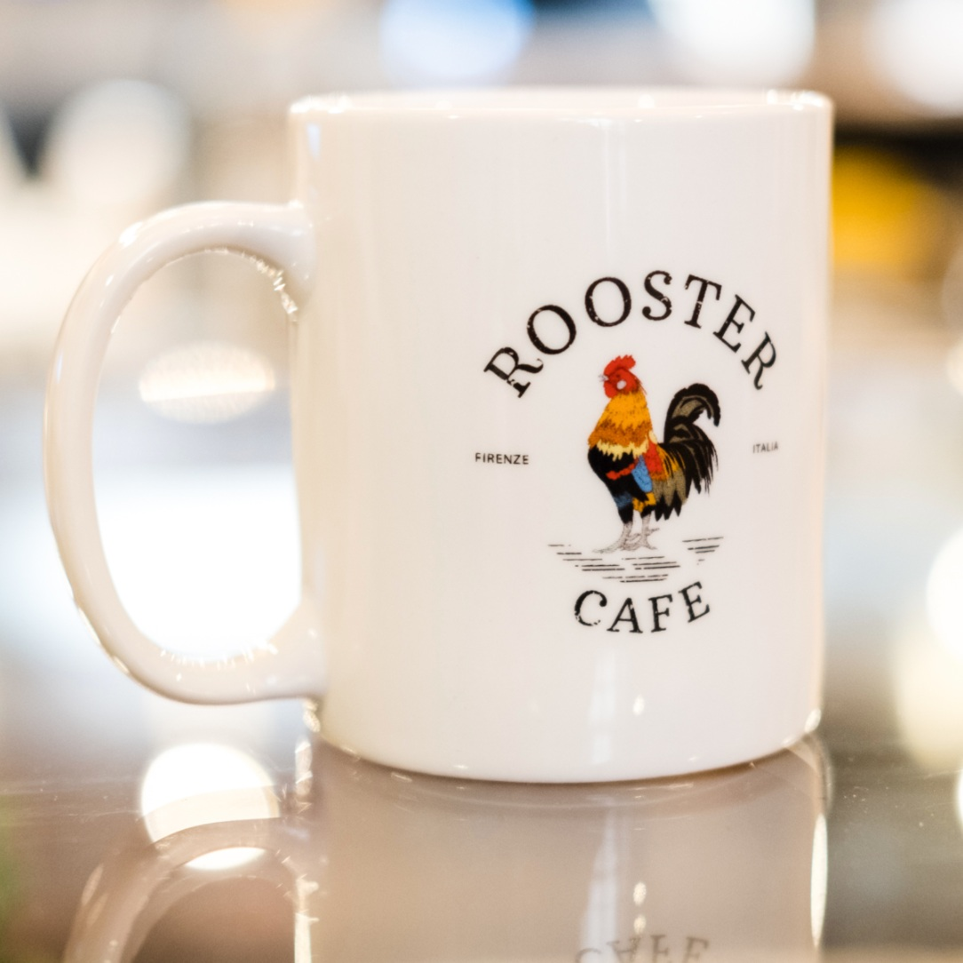 ROOSTER CAFE - LOGO, IDENTITY, BRANDING