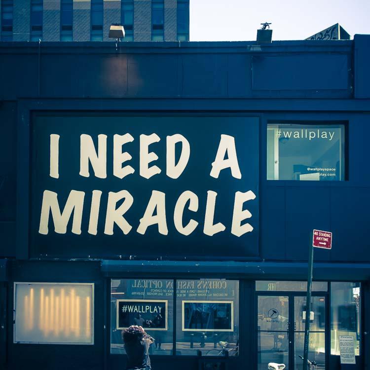 Mel shooting I need a miracle
