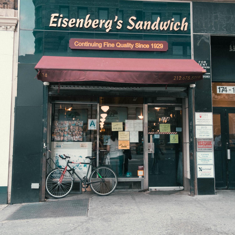 Eisenberg's Sandwich