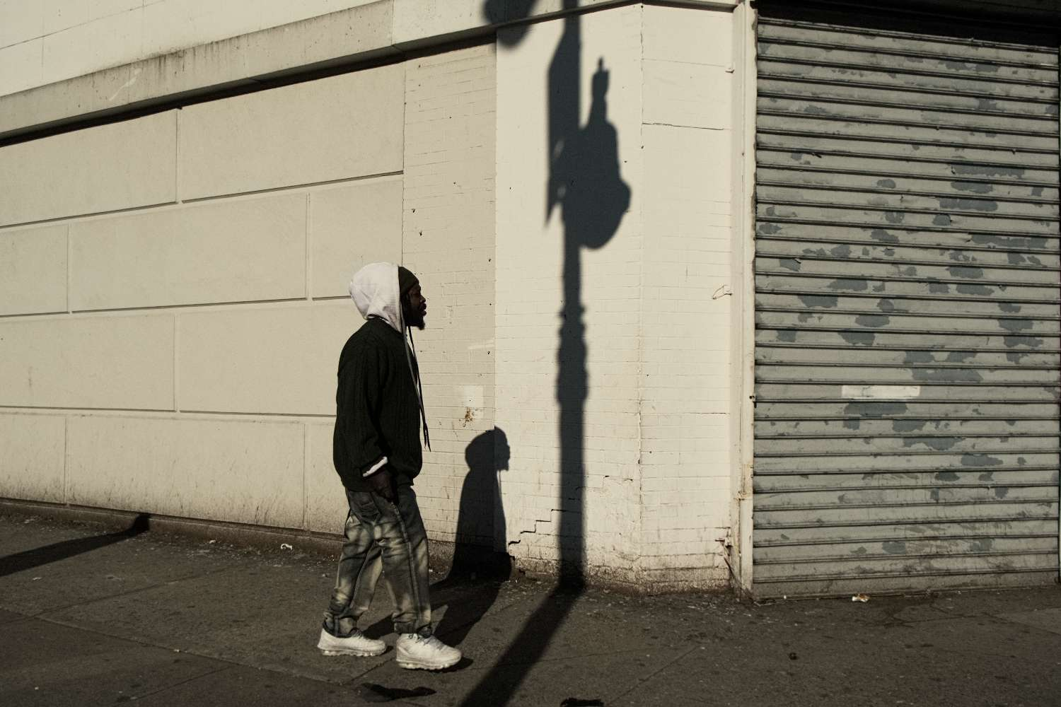Man with Shadows