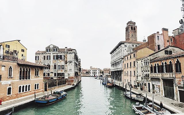 We arrived in Venice and were instantly captivated by it; it hadn't changed since the last time I had been there as a child. It pulled us into its narrow alleys, each one leading us on a different adventure around the maze on water. We fell under its spell instantly; we did not want to be found. ✨