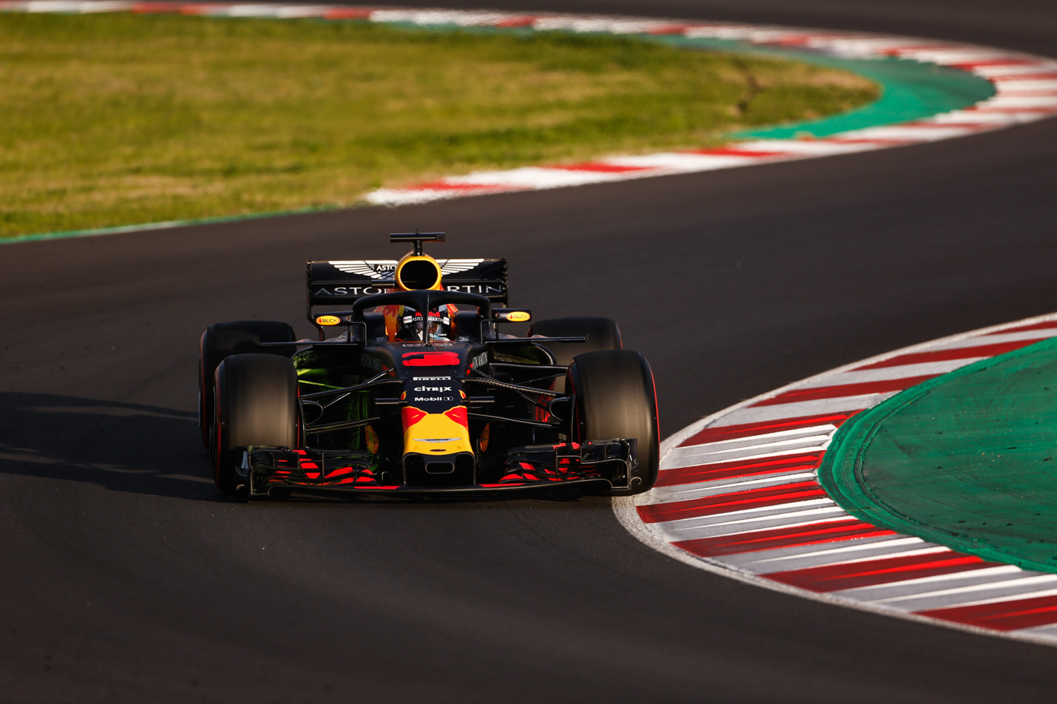 Daniel RICCIARDO - Australia - ASTON MARTIN RED BULL RACING - #03 - F1 Test Days - Circuit de Barcelona Catalunya - Spain - 09 March 2018