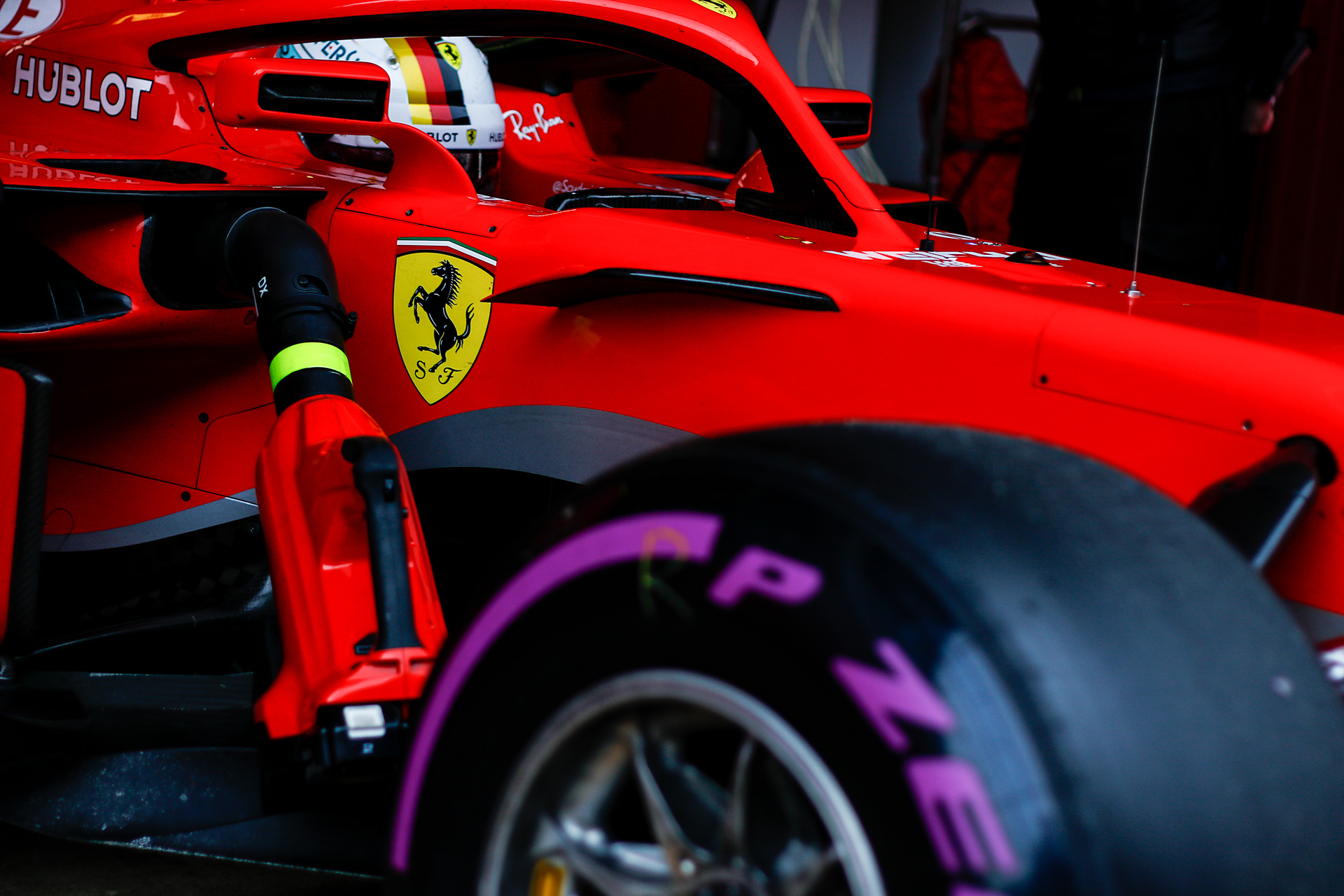 Sebastian VETTEL - Germany - SCUDERIA FERRARI - #05 - F1 Test Days - Circuit de Barcelona Catalunya - Spain - 08 March 2018