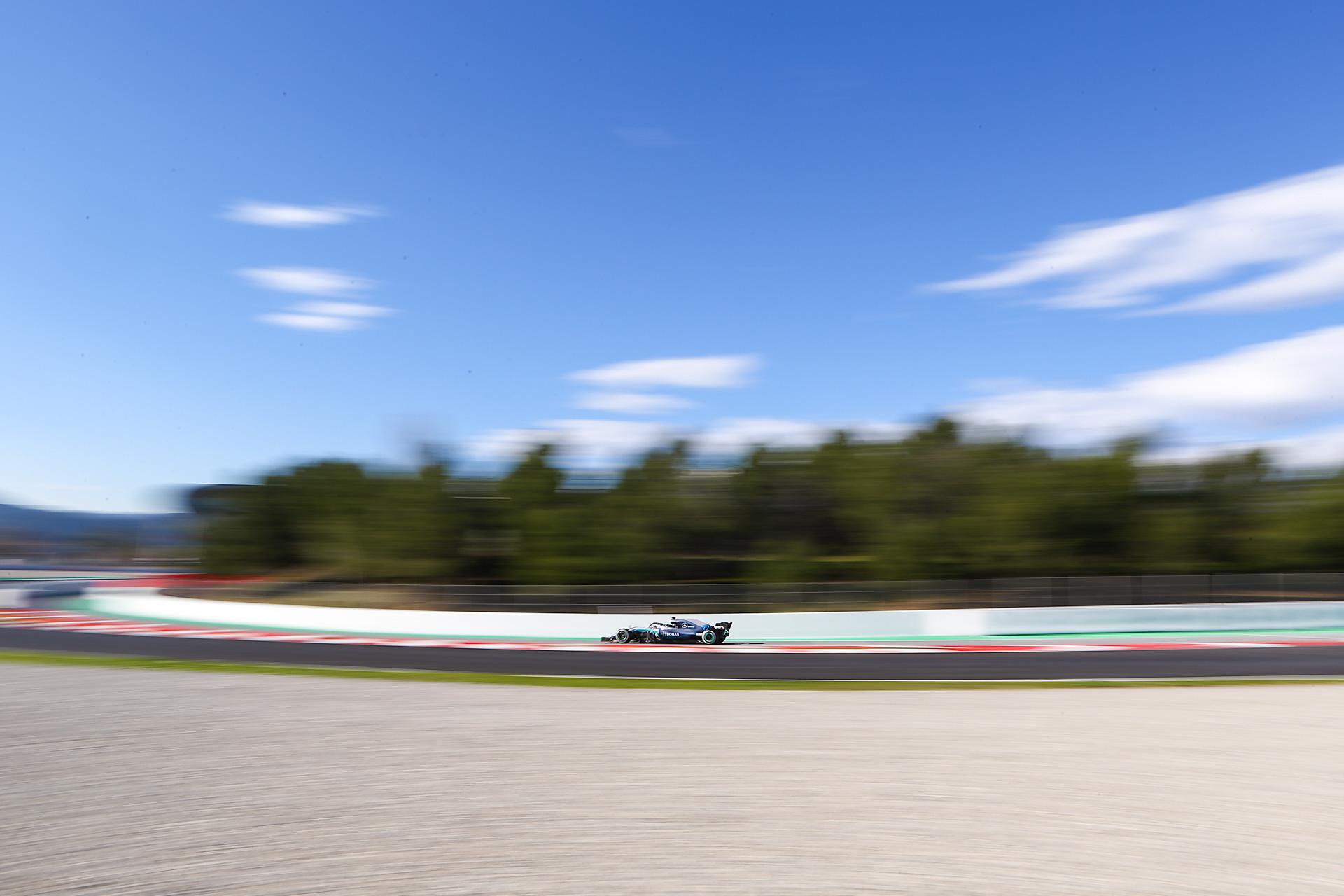 - F1 Test Days - Circuit de Barcelona Catalunya - Spain - 06 March 2018
