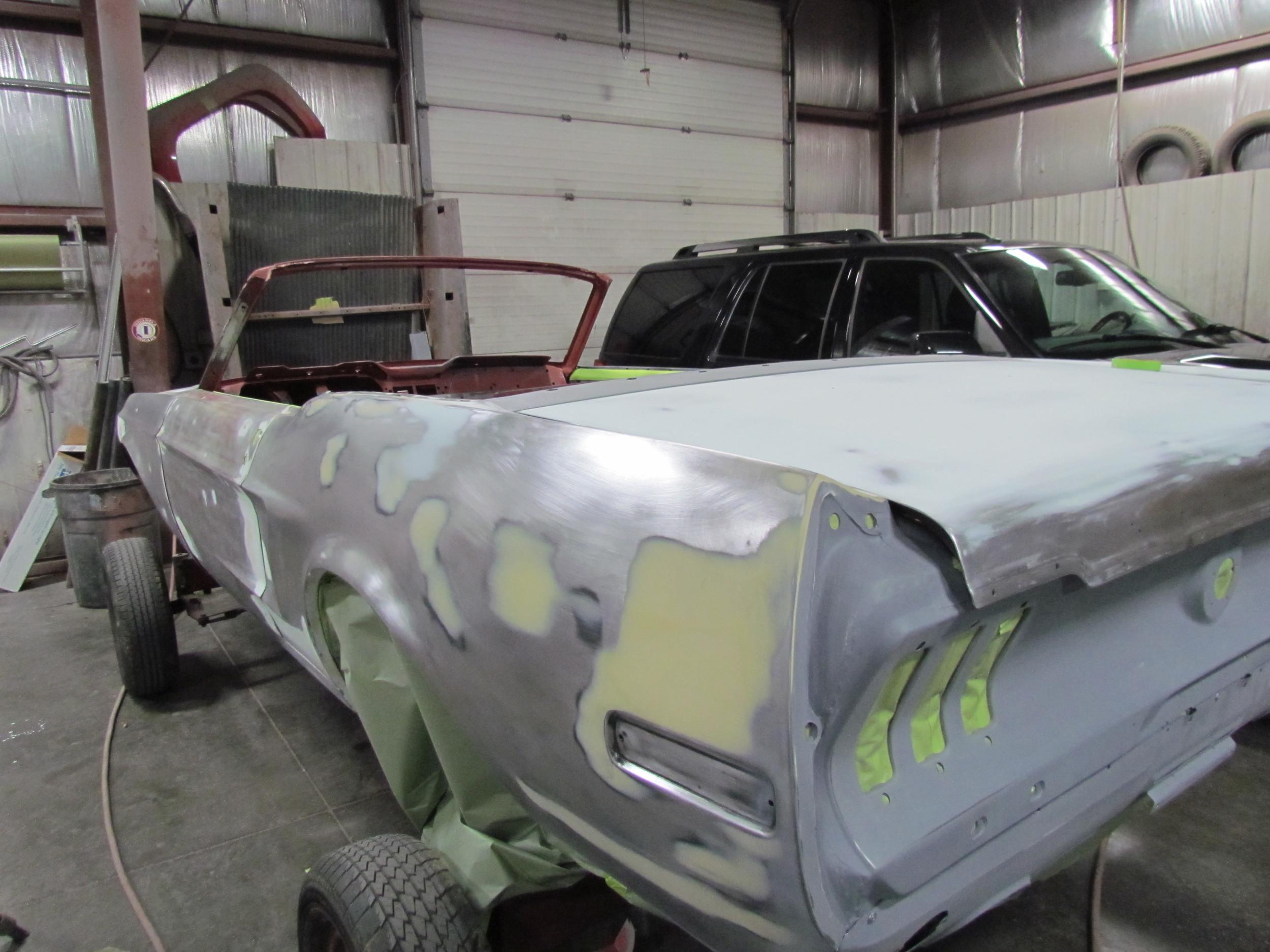 mustang convertible restoration