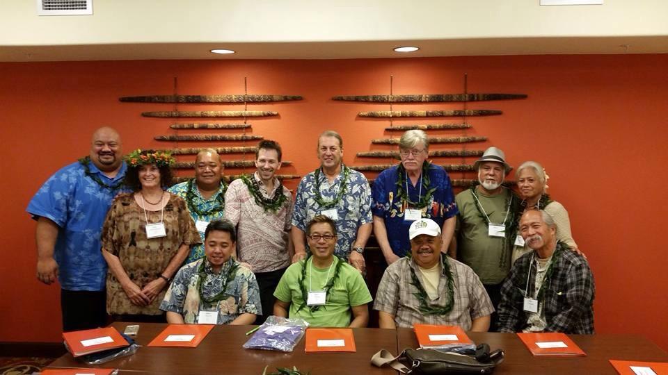 The rest of the Aloha Music Camp kumu.