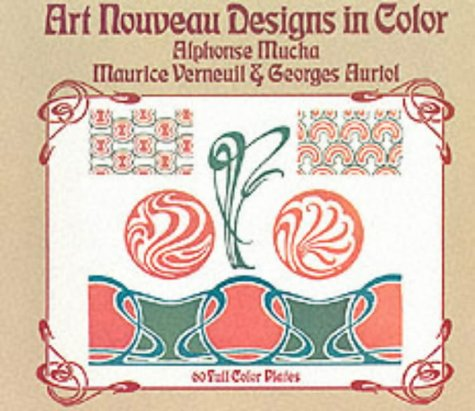 I love Art Nouveau and I'm not ashamed of it.  Art Nouveau Designs in Color  by Mucha is pure eye candy despite there being virtually no typography.