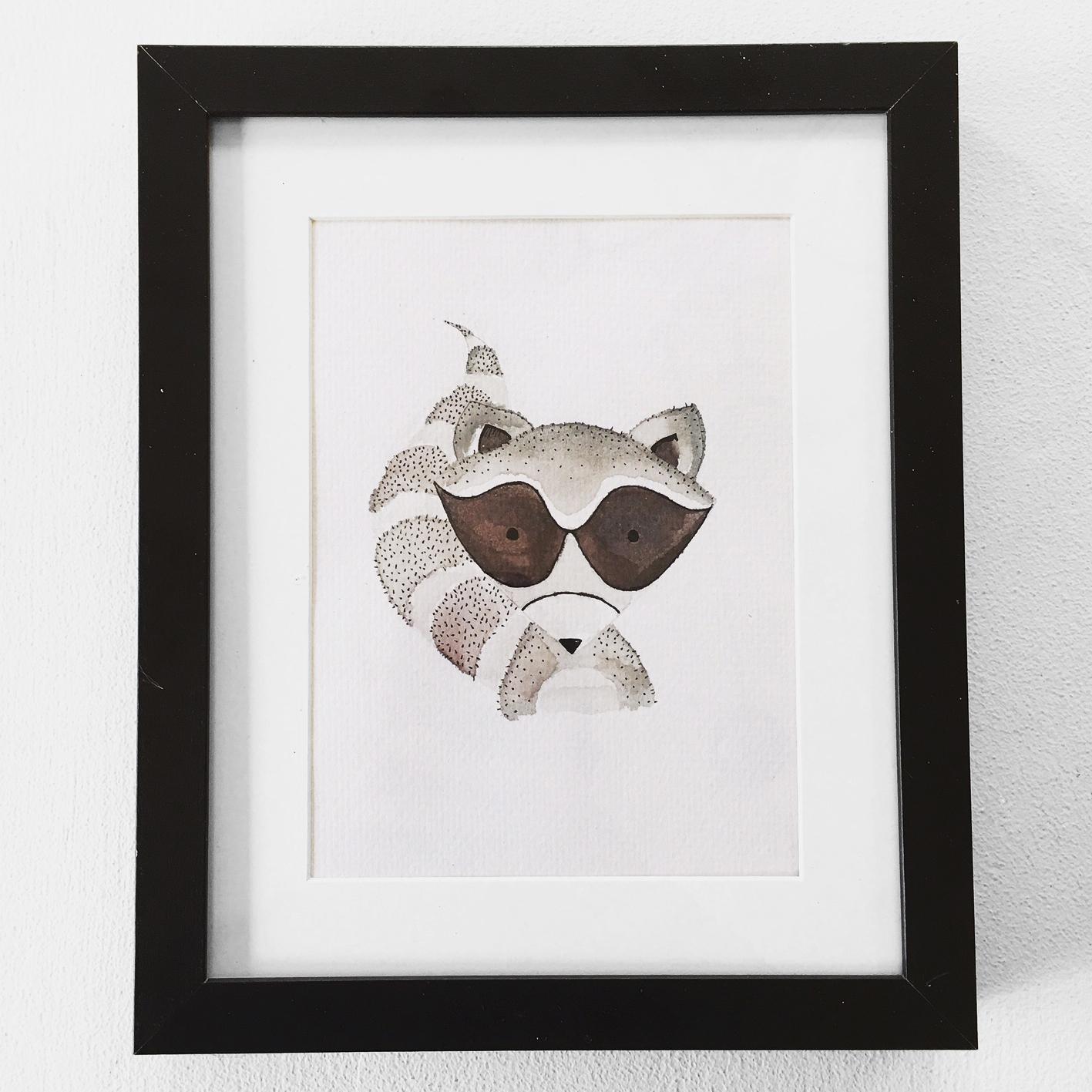 Woodland Raccoon $25
