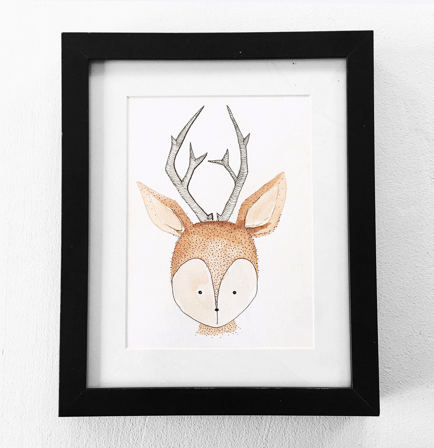 Woodland Deer $25