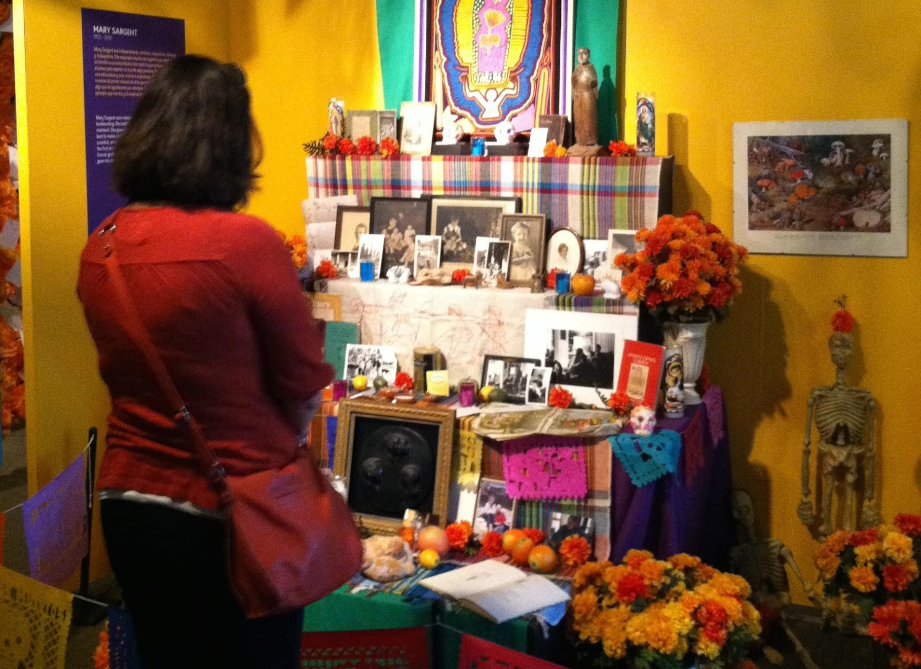 Photo by Netanel Miles-Yépez from the  Día de los Muertos exhibit at the Longmont Museum, 2014.