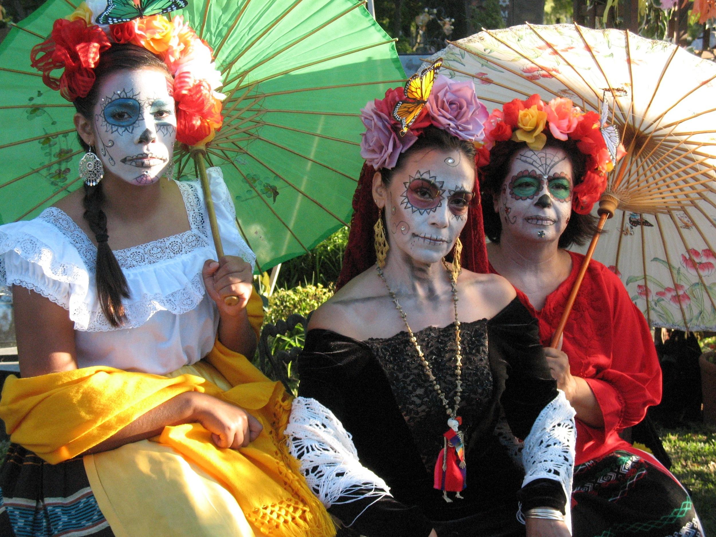 "Image from the blogpost,  ""When Death Delights: Dia De Los Muertos, Part 1""  by deadwrite"