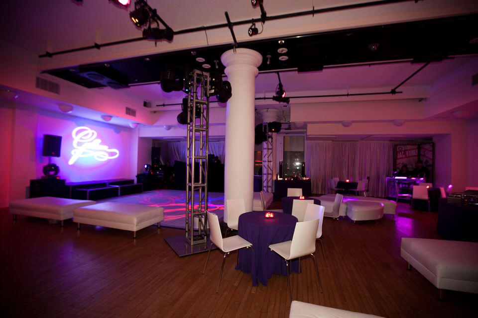 Dance Floor and Lounge Area