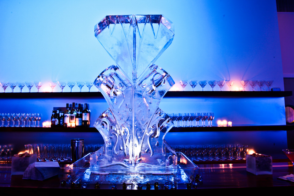 Ice Sculpture Private Reception