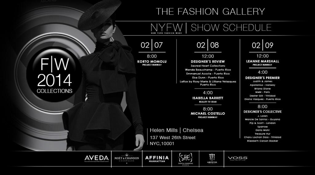 New York Fashion Week Calendar Helen Mills