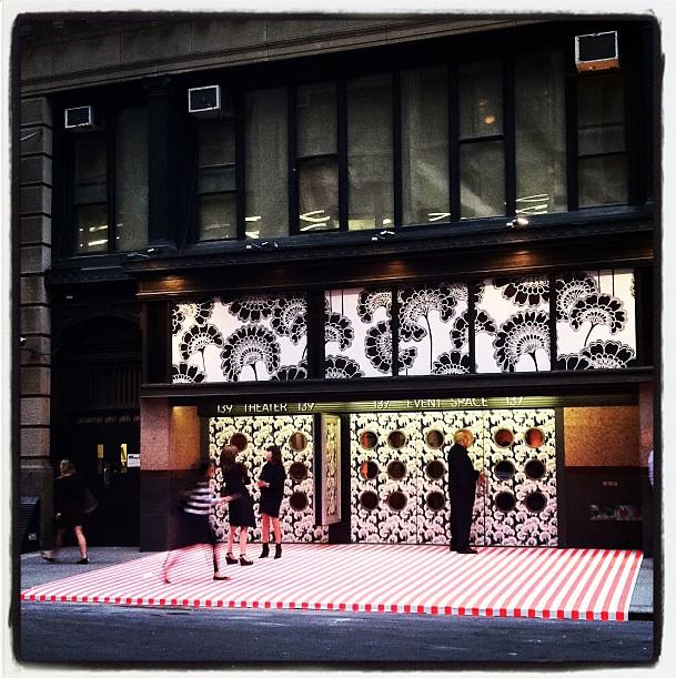 Kate Spade Fashion Display - Instagram - gurby12