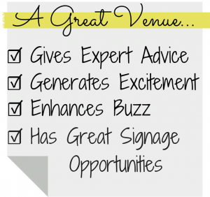 A Great Venue Can Add a Lot of Value to Your Event