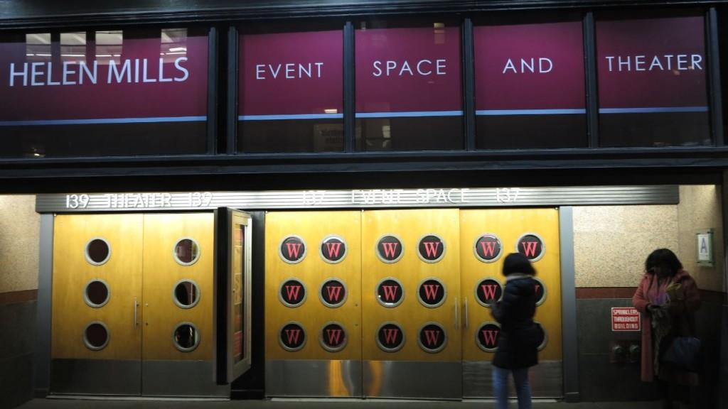 Branded Event Space Porthole Windows