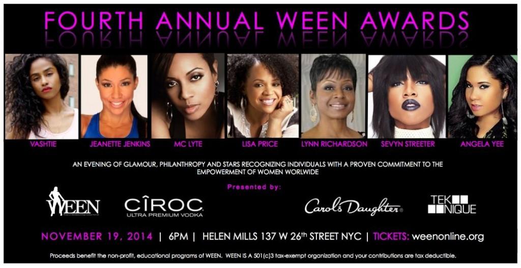 WEEN Award Winners