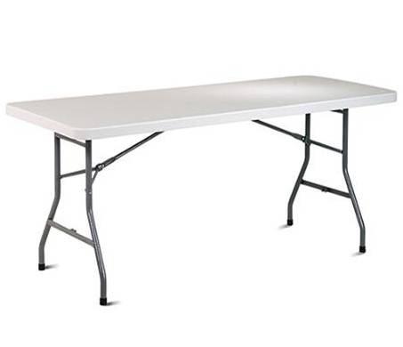 six foot folding table