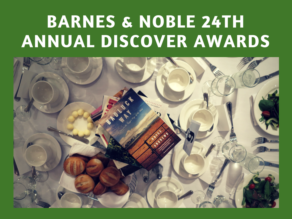 Barnes & Noble 2014 Discover Awards graphic
