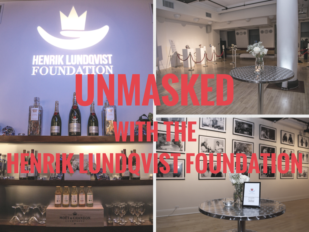 Unmasked With The Henrik Lundqvist Foundation graphic