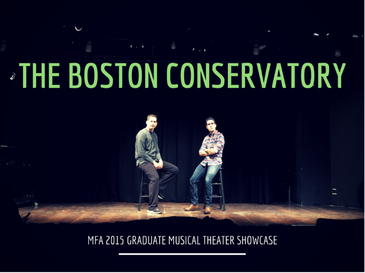 Boston Conservatory graduate showcase rehearsal