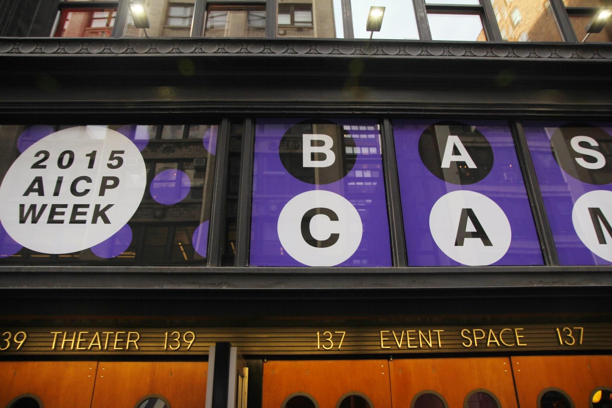 AICP Week's 2015 Base Camp at HELEN MILLS Event Space and Theater