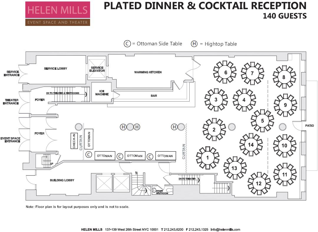 Seated Dinner and Reception - 140 Guests.JPG