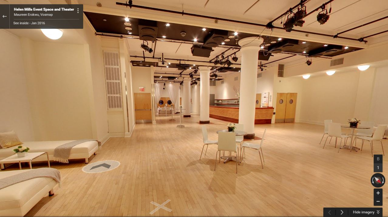 Google Street View at HELEN MILLS Event Space and Theater