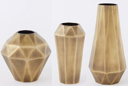 decorative vases in various sizes