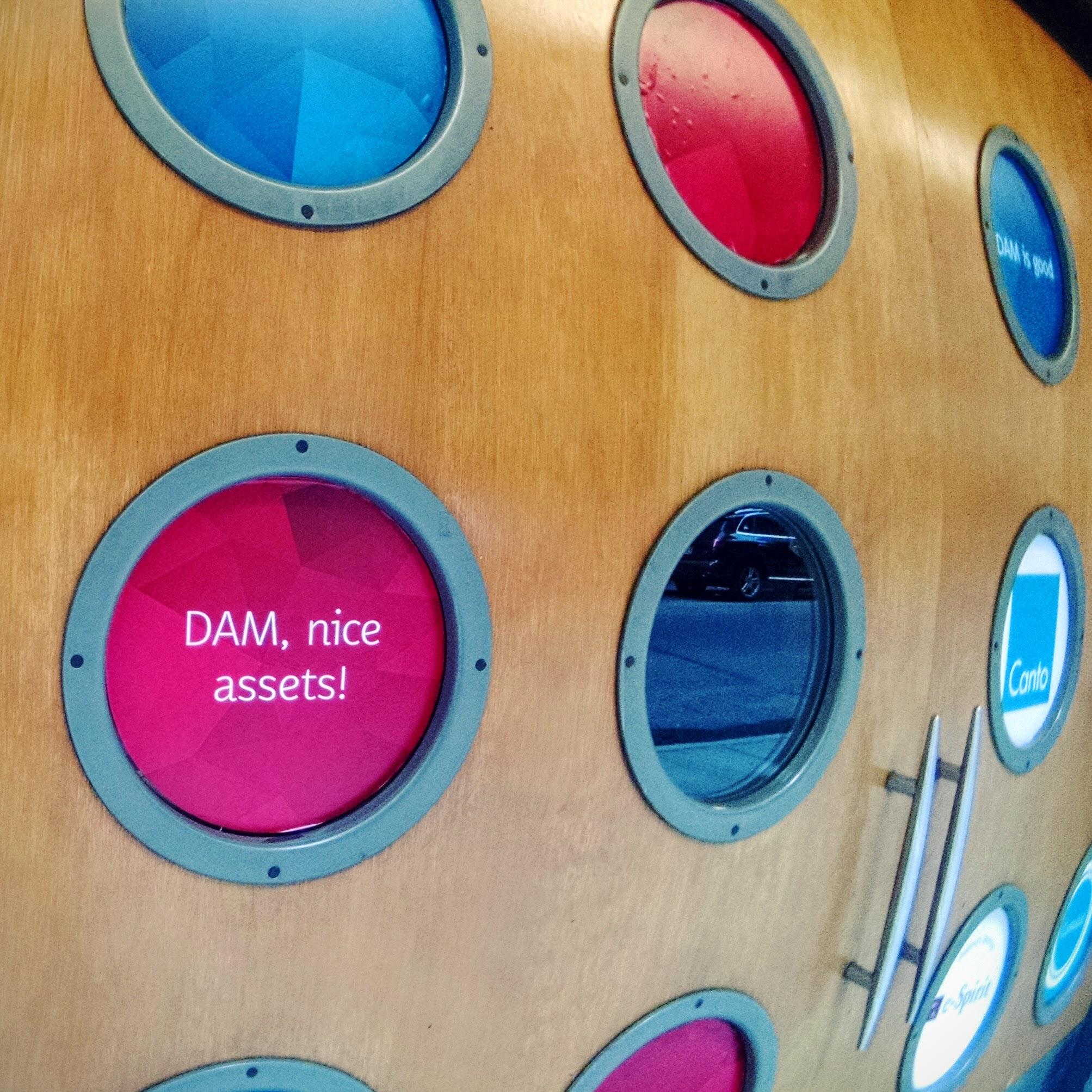 DAM nice assets porthole signage