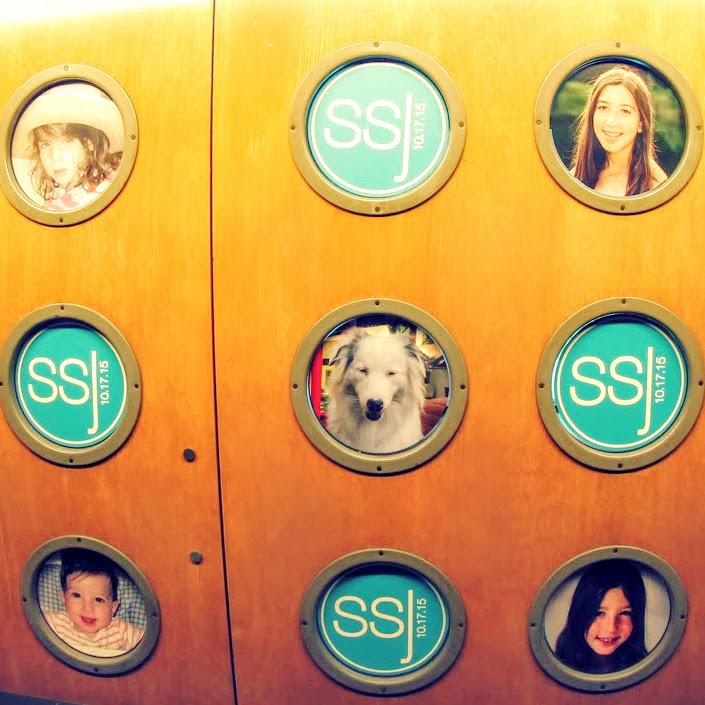 Custom porthole signage