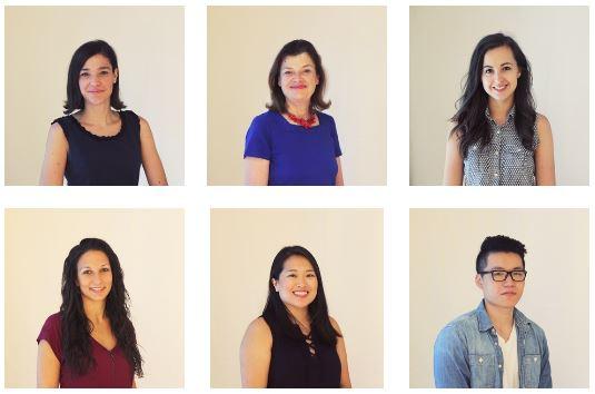 Helen Mills team photo collage