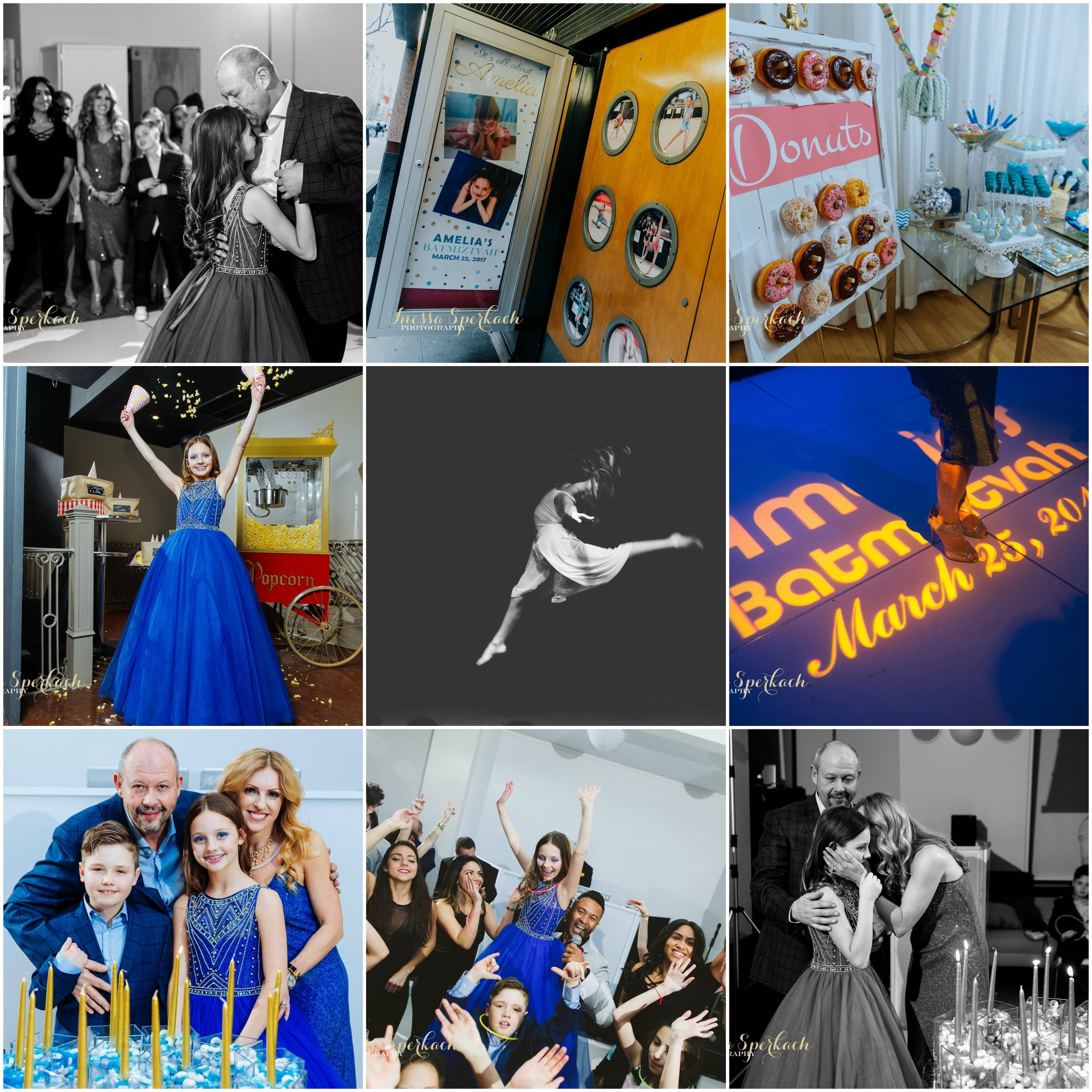 Collage of Amelia's event