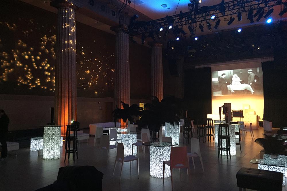 L.E.D. furniture lighting