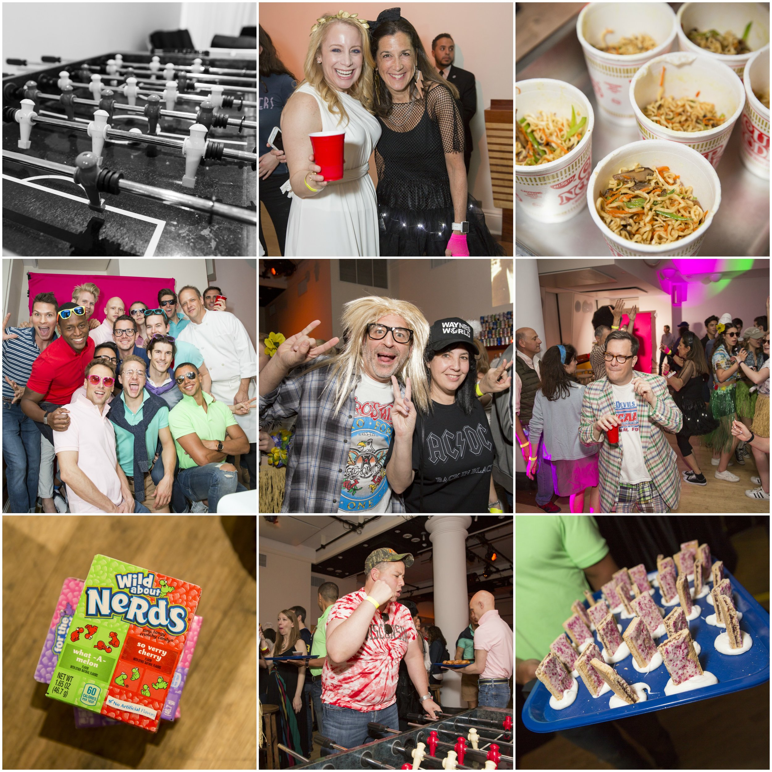Revenge of the Nerds event collage