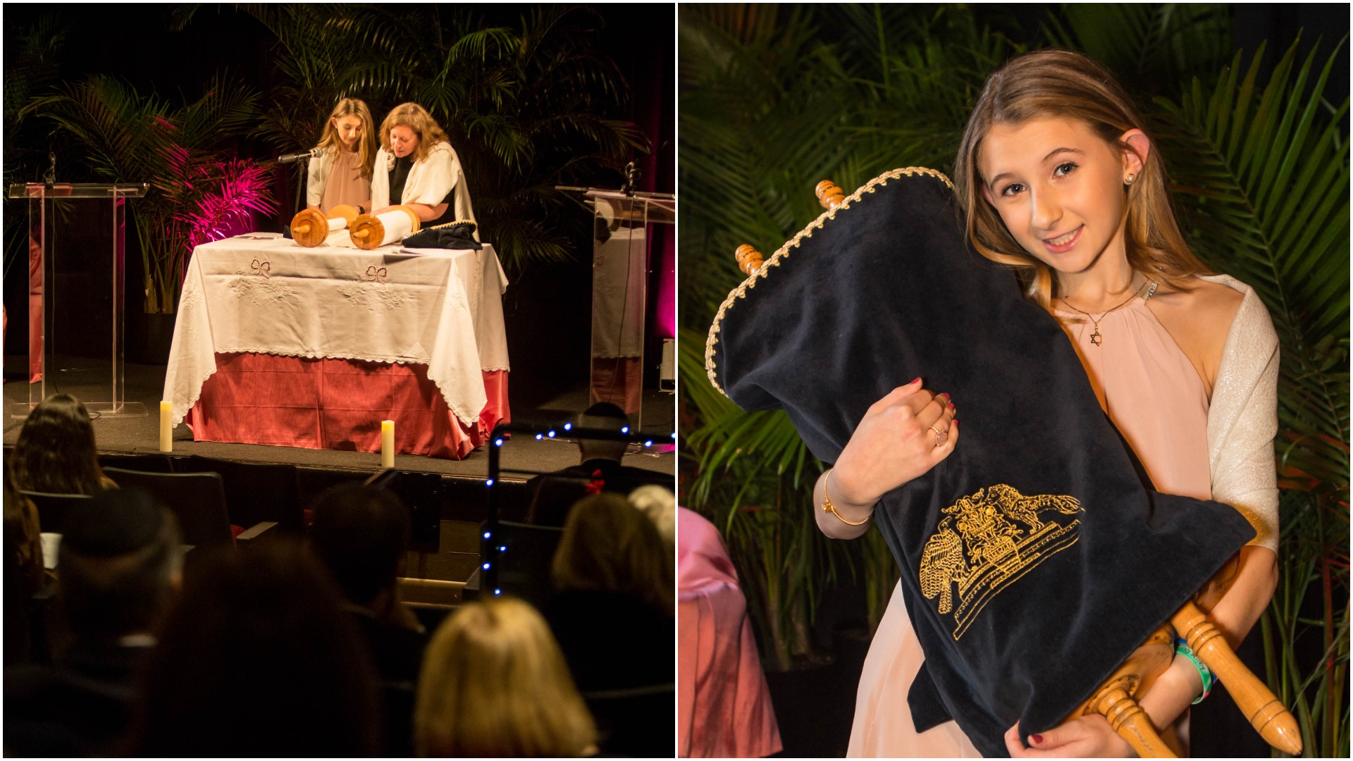 Cha Cha's Bat Mitzvah Ceremony