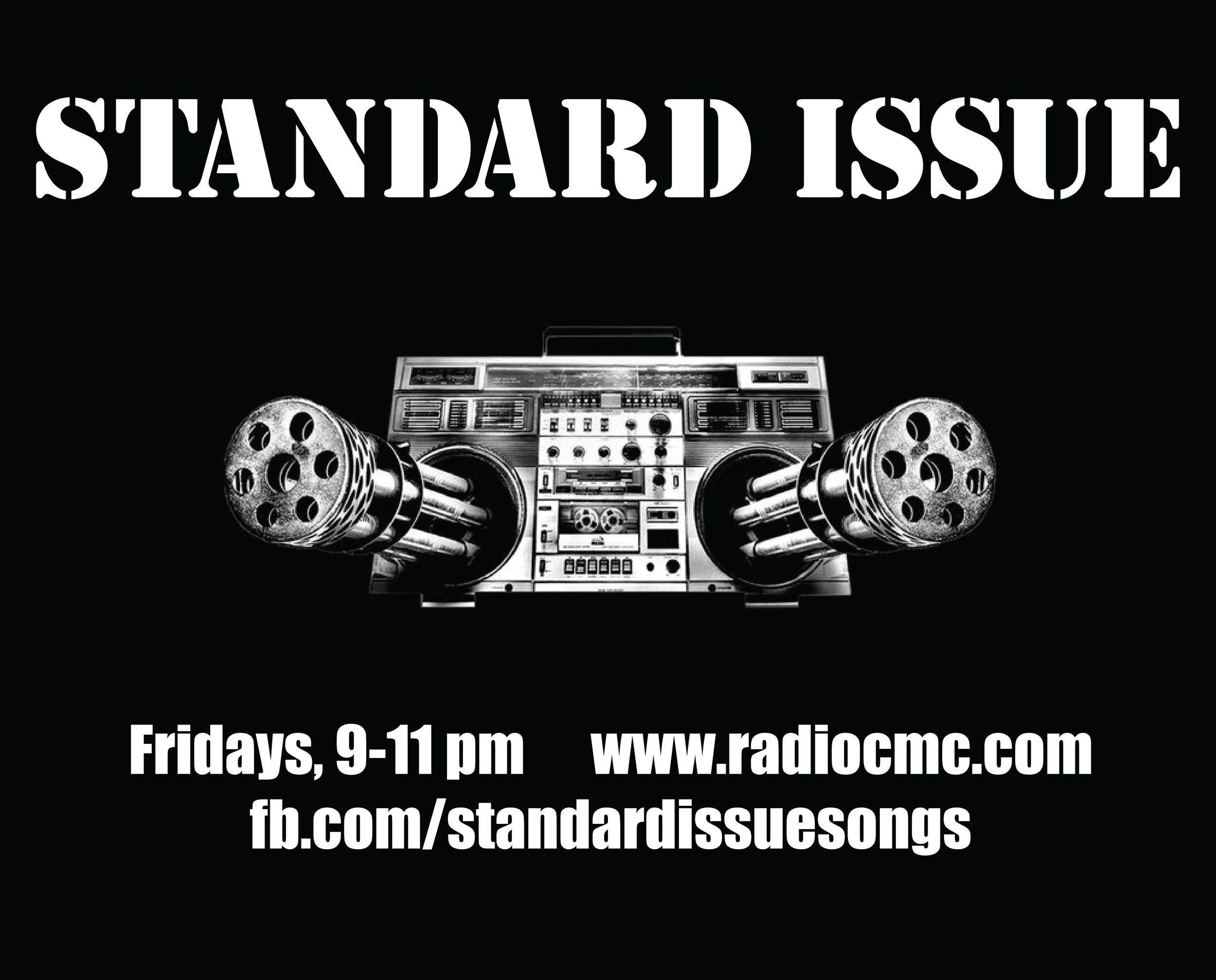 Standard Issue Radio poster