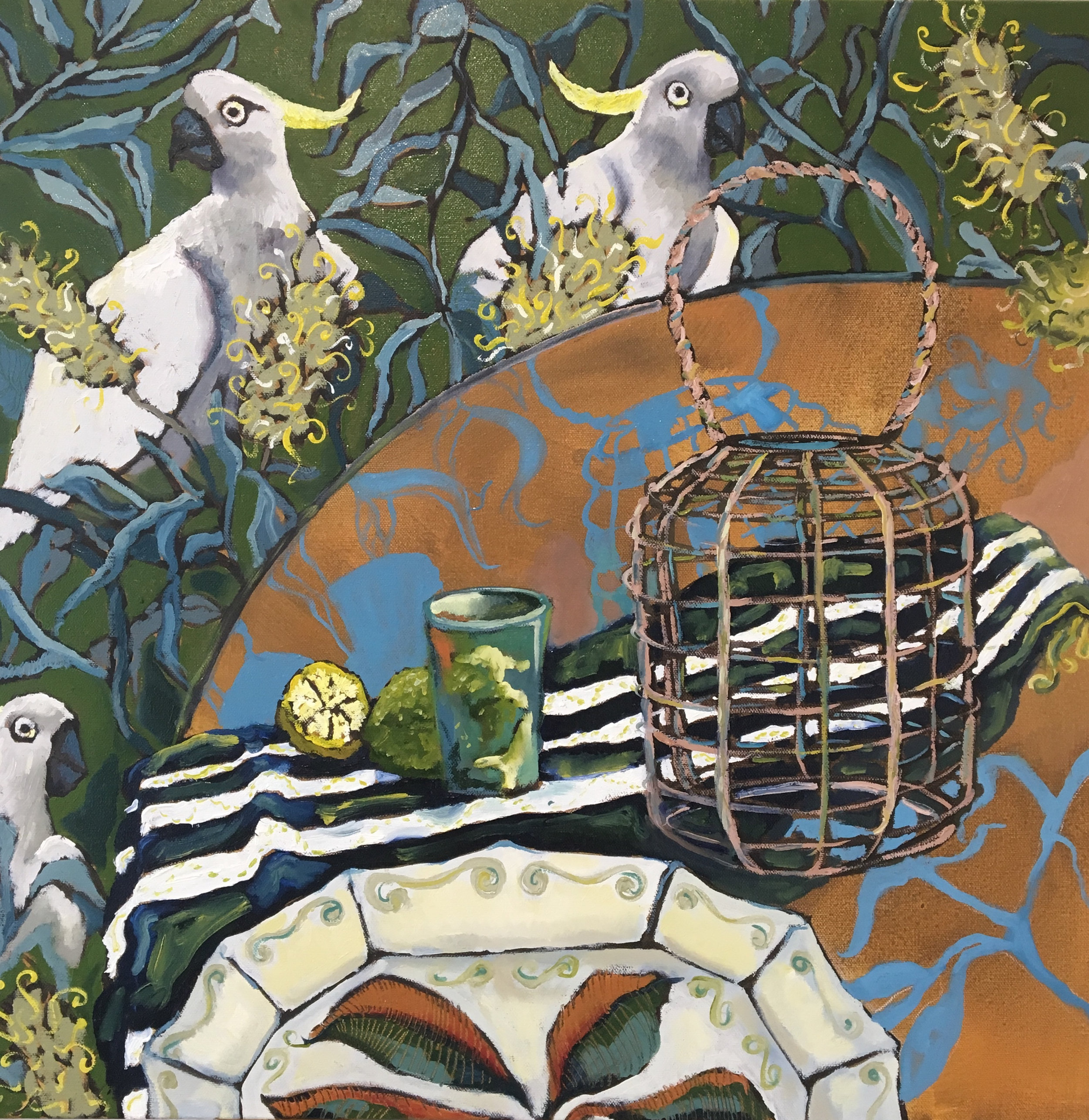 WallpaperCockatoos,61x61cm,oil,$500.jpg
