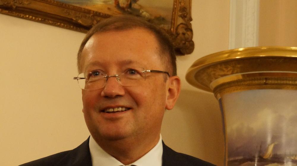 Russian Ambassador to the UK Alexander Vladimirovich Yakovenko