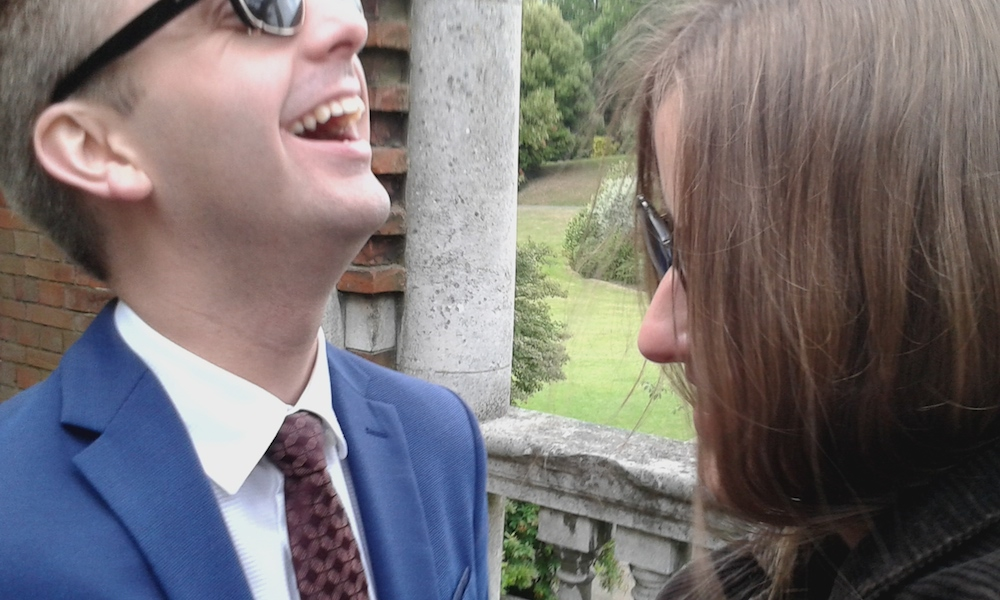 Mark and Talitha in Vita